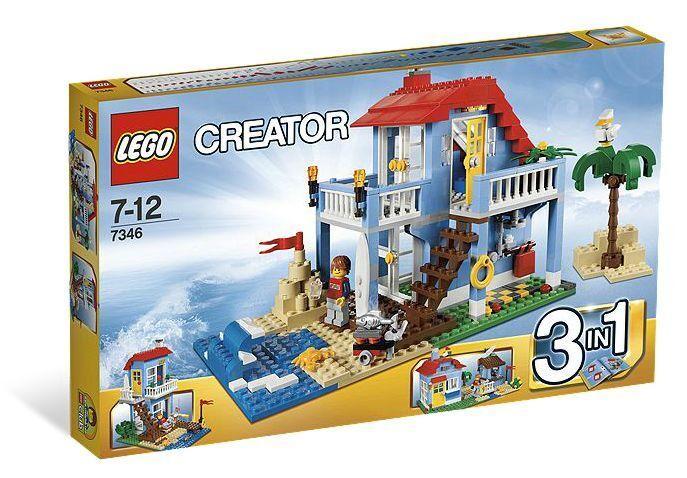 LEGO ® Creator 7346 maison de plage Nouveau neuf dans sa boîte _ Seaside House New En parfait état, dans sa boîte scellée Boîte d'origine jamais ouverte _ Villa al mare