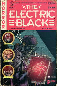 ELECTRIC-BLACK-1-JETPACK-COMICS-EXCLUSIVE-VARIANT-1st-PRINTING-Scout-Comics-HOT