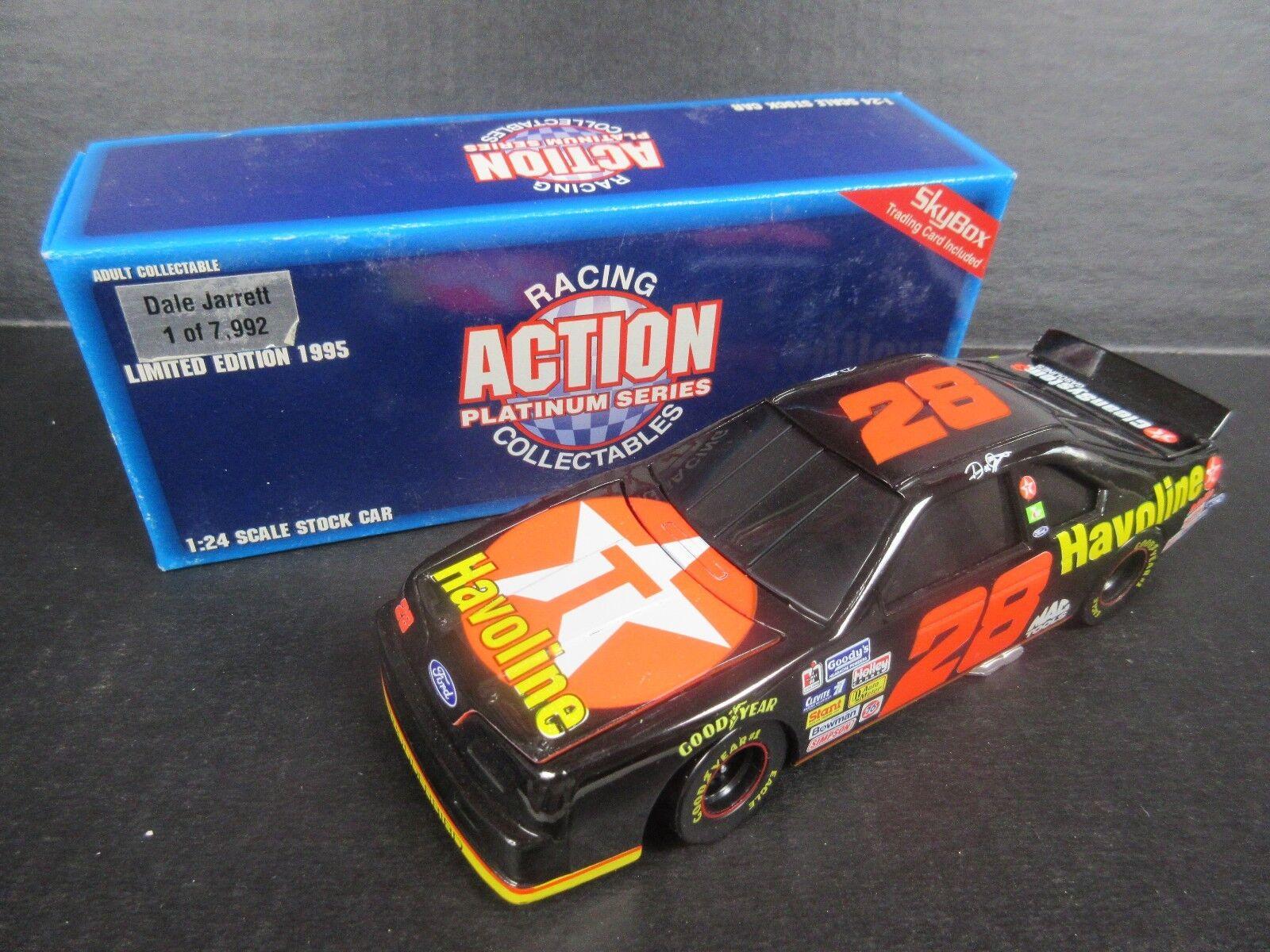 1995 Action Dale Dale Dale Jarrett--Havoline Bank Car 1 24th scale 7c3dcc