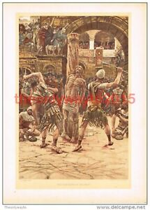 Scourging-of-the-Face-J-J-Tissot-Book-Illustration-Print-c1897