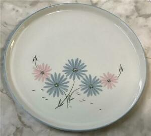 Franciscan Maytime DINNER PLATE(s) Gladding McBean & Co Pink Blue Flowers Floral