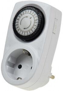 Analoge-Zeitschaltuhr-Zeitschalter-Timer-Schaltuhr-Steckdose-Dauerbetrieb-3500W