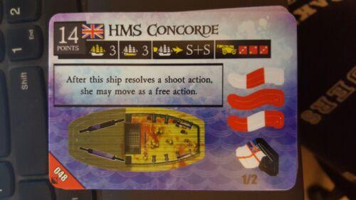 Pirates At Ocean/'s Edge #048 HMS Concorde Pocketmodel NrMint-Mint