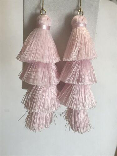 GABRIELA FRINGE DROPS Baublebar Pink