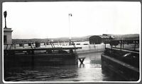 VINTAGE PHOTOGRAPH 1930-34 WELLAND CANAL LOCKS ONTARIO CANADA NEW YORK OLD PHOTO