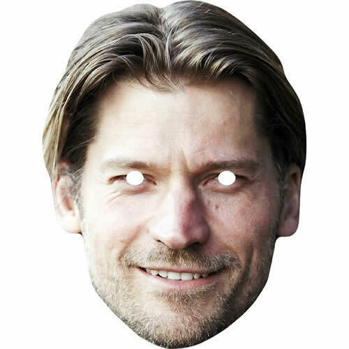 Nikolaj Coster-Waldau Game Of Thrones Card Masks Jamie Jaime Lannister Mask