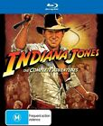 Indiana Jones - Complete Blu-ray Collection (Blu-ray, 2012, 5-Disc Set)