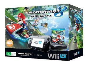 Wii-U-32gb-Mario-Kart-8-Premium-Console-Pack-Mario-amp-Sonic-Download-NEW