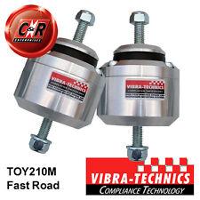 2x Toyota Chaser Vibra Technics Engine Mounts 92-96 1JZGTE, 2JZGE F.Road TOY210M