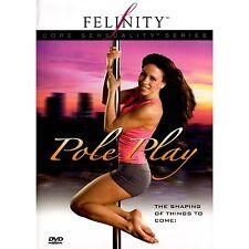 Felinity Pole Play - Core Sensuality - Pole Dancing Instructional DVD NEW