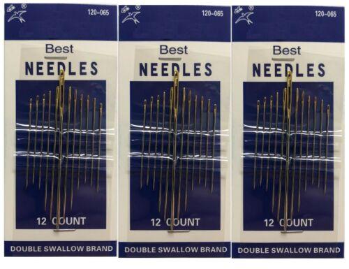 Sewing Needles 3 packs