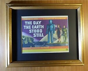 """Print 14 x 11/"""" The Day the Earth Stood Still"""