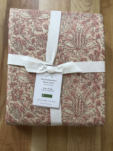 New Pottery Barn Foundations Larsa Kalamkari Duvet Cover