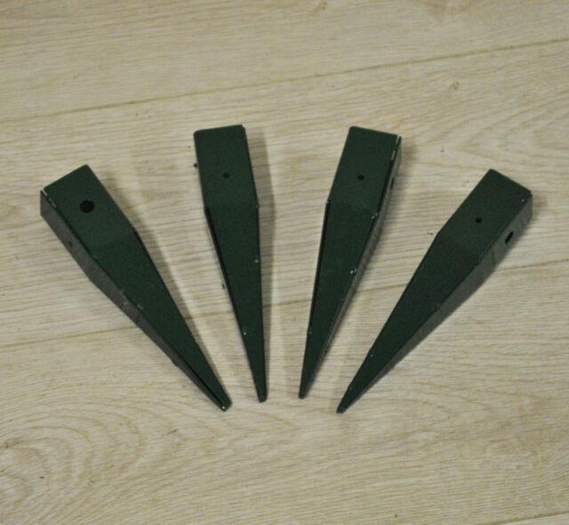 Gardman Elegance Garden Arch Ground Feet Garden Spikes (Set Of 4)