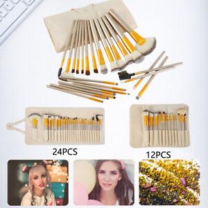 12-24X-Make-Up-Real-Techniques-Sponge-Makeup-Brushes-Set-Foundation-Eyeshadow-UK