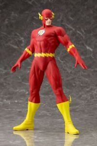 DC-Comics-THE-Flash-ARTFX-Statue-Justice-League-Batman-Superman-1-6-Statue
