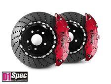D1 Spec RS Big Brake 6Pot Caliper Anodize Red 355x32 Drill Disc For GTI MkV MkVI