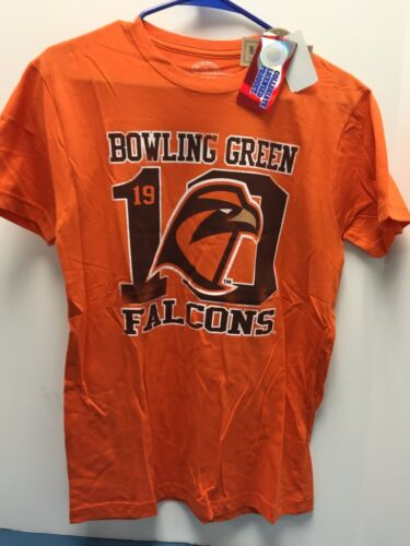 Bowling Green Falcons College T Shirts Colors orange and gray NEW WITH TAGS!!