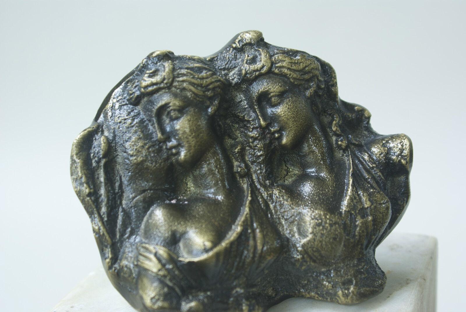 100% Solid Pure Fine Bronze ARTEMIS Figurines Door Knob Handle Pulls Artwork