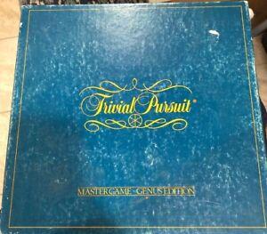 Trivial-Pursuit-Original-GENUS-MASTER-Board-Game-1st-Edition-1981-COMPLETE