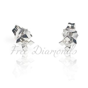 Orecchini-Punto-Luce-in-oro-18-Kt-e-diamanti-naturali-ct-0-10-PREZZO-IMBATTIBILE