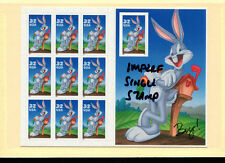 USA 1997 Cartoons/ Animation Bugs Bunny Sheet Scott 3138 Very Fine Never Hinged