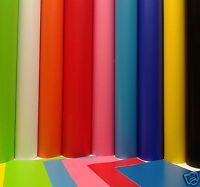 1 MTR ROLL OF 610mm SELF ADHESIVE VINYL STICKY BACK PLASTIC BIG RANGE OF COLOURS