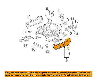 TOYOTA Genuine 71868-06140-B0 Seat Cushion Shield
