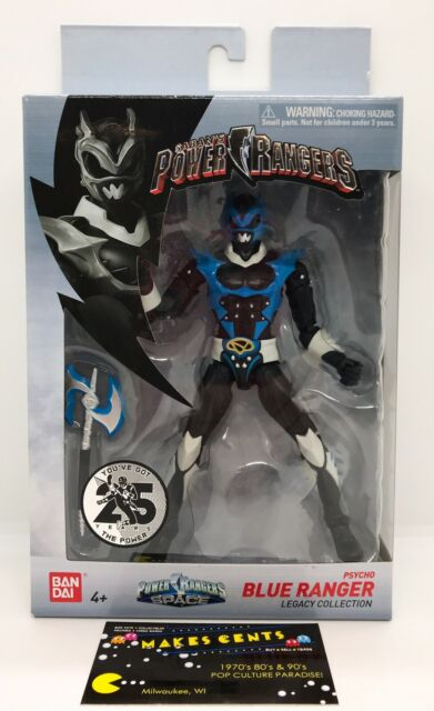 PSYCHO BLUE RANGER Saban's Power Rangers in Space Legacy Collection - BRAND NEW!