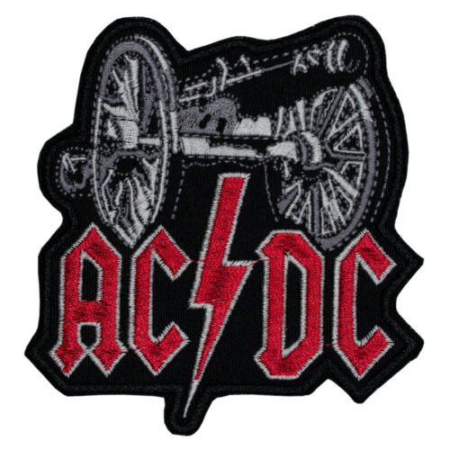 ACDC AC//DC Patch Logo Heavy Metal Band For Those About To Rock