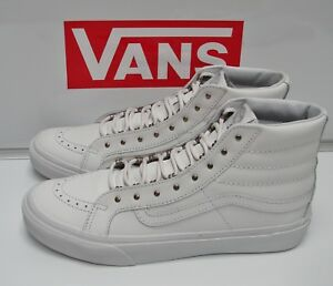 19014fc4f9 VANS Sk8-Hi Slim (Rivets) Antique Silver True White VN-00018IJV0 ...
