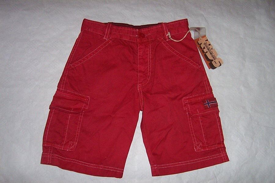 AgréAble Napapijri Bermuda Pantalon Court Short Taille 116 O. 140 Nouveau éGouttage