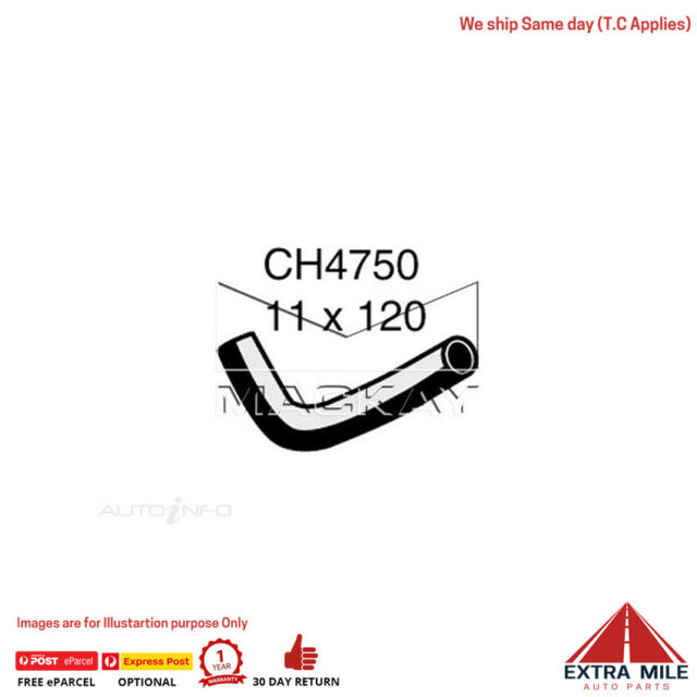 CH4750 Engine By Pass Hose for Subaru Impreza G3 2.5L F4 Turbo Petrol Manual / A