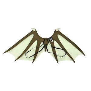Adult-Kids-Fantasy-Game-of-Thrones-LARP-Halloween-Cosplay-Costume-Dragon-Wings