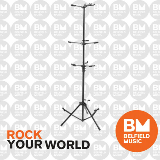 On Stage GS7652B 6 Guitar Stand GS-7652B OnStage - Brand New