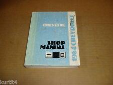 1984 Chevrolet Chevette shop service dealer repair manual