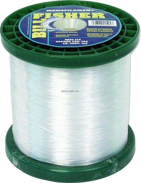 NEW Billfisher Bulk Mono 2Lb Spool 125Lb 780Yds Clear SS2C-125