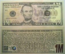 TV MOVIE 25-JOHN WAYNE MILLION DOLLAR BILLS Actor-MOVIE MONEY F3 NOVELTY