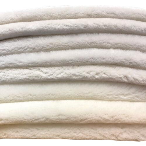 Natural White Shearling Leather Sheepskin Hides Fur Skin Hair On Avg 8.75 Sqft