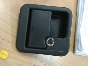 MOTORHOME / CARAVAN M1 BLACK OUTER DOOR HANDLE | eBay