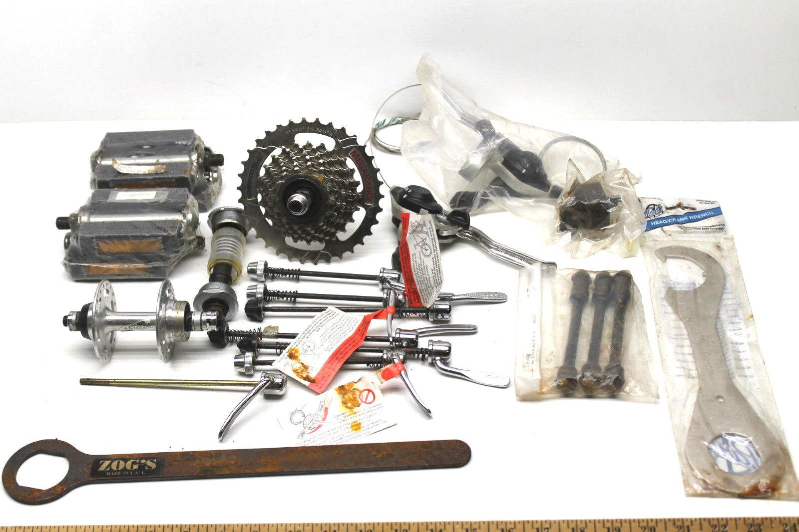 Frenos de Shimano Gear Cable de piezas de bicicleta Pedales componentes ejes Llave de 36mm + Zogs