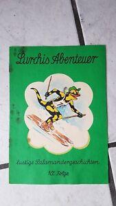 super popular c96a4 a7af3 Details zu Lurchis Abenteuer -1 altes Salamander Schuhe Comic Werbeheft  (1962/63) Nr.10