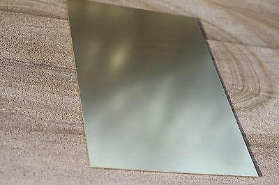 Messingblech 1mm Messingplatte 2.0321 CuZn37 Ms 63 Zuschnitt Feinblech wählbar