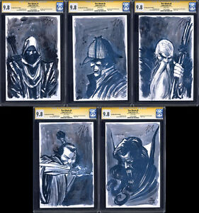 FIVE-GHOSTS-1-2-3-4-5-FULL-SET-SDCC-Variants-CGC-9-8-SS-Signed-by-Barbiere