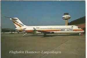 AERO LLOYD   DC9    POST CARD