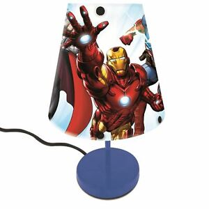 Marvel-Avengers-Chevet-Table-Lampe-Thor-Iron-Man-The-Hulk-Captain-America