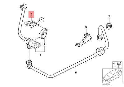Genuine BMW E46 E53 E60 E60N E61 Fuel Tank Breather Line Lock OEM 13907515387