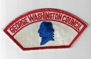 George Washington Council CSP RED Border [IND-127]
