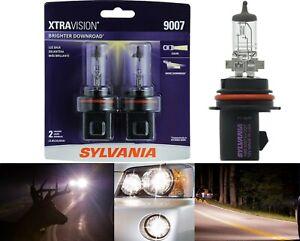 Sylvania Xtra Vision 9007 HB5 65/55W Two Bulbs Head Light Dual Beam Plug Play OE
