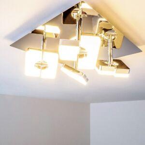 Details Zu Design Led Deckenspot Leuchte Deckenstrahler Deckenlampe Wohnzimmer Verstellbar